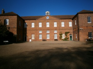 Courtyard of Gressenhall Workhouse